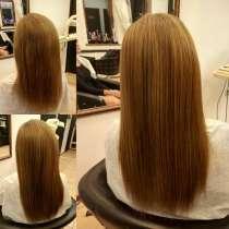 Кератиновое выпрямление волос, в Москве