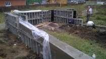 Септики дренажи- кессоны колодцы фундамент-зимой, в Красноярске