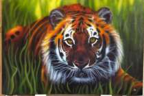 Картину тигр, в Нижнем Новгороде