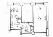 Продам комнату в 2х комнатной квартире, в Ижевске