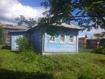 Дом в Емецке, в Архангельске