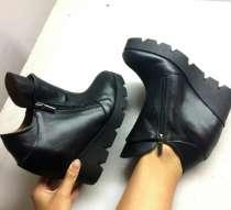 Кожаные ботинки на платформе, в г.Хмельницкий