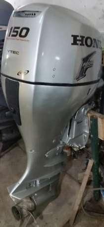 Продам лодочный мотор HONDA BF 150, нога X(638 мм), в Владивостоке