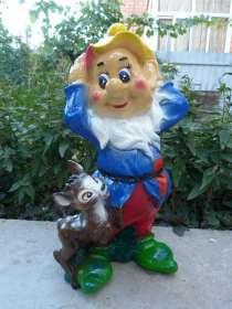 Производство садовых фигур, копилок, сувениров, в Краснодаре