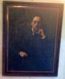 Портрет А. П. Чехова (копия картины О. Браза), в Москве