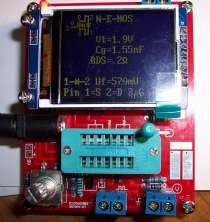 Транзисторный тестер цветной дисплей, в Волгограде