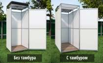душ и туалет летний в п.Даниловка, в Волгограде