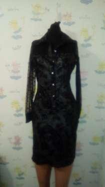 Платье серо-черное. пр. Турция, в Санкт-Петербурге