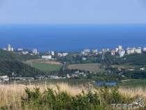 Продам участок на ЮБК г Алуша Лучистое вид на море, в г.Алушта