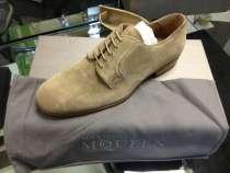 Ботинки замшевые Alexander McQueen, в Москве