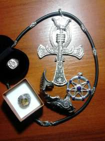 Набор винтажных украшений готика 5 предметов, в Краснодаре