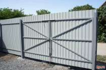 Забор из профнастила под ключ, в Лобне