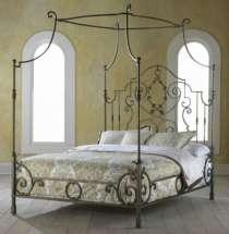 кровать кованая с балдахином, в г.Белореченск