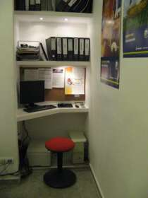 Оборудованный кабинет/рабочее место юристу, риэлтору, оценщику аренду. 1 линия, отд. вход, отделка, центр города., в Чебоксарах