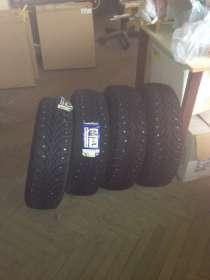 Новые шипованные шины Goodyear 175/70 R13, в Москве
