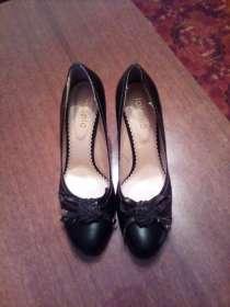 Туфли черные с розочкой, в Екатеринбурге