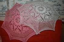 Зонты ручной работы связанные крючком, в Волжский