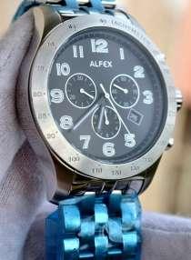 Классический хронограф Alfex, Швейцария, в Рязани