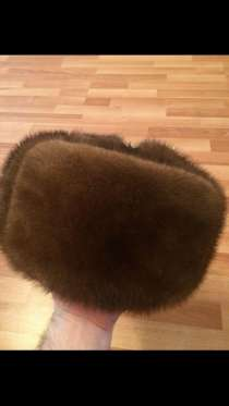 Головной убор. Норковая шапка ушанка, в Санкт-Петербурге