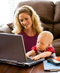Работа для мам в декрете, в интернете, с обучением, в Нижнем Новгороде