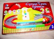 Супер-Трек с туннелем Игровой набор со светом и звуком, в Москве