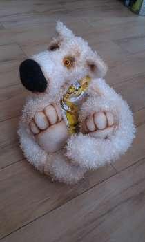 Медведь ручная работа, рост 44см, лапы и голова подвижные, в г.Запорожье