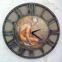 Необычные оригинальные настенные часы, в Новосибирске