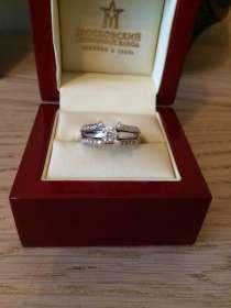 Потрясающее кольцо с бриллиантами, в Москве