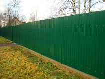 Строительство заборов в Щёкино и районе, в Туле