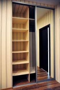 Шкафы распашные и шкафы -купе-изготовление, монтаж. Договор, в Нижнем Новгороде