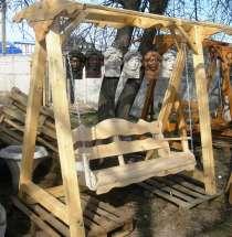 Садовые качели из дерева, в г.Одесса