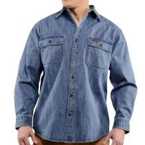 Джинсовая рубашка Carhartt, в Омске