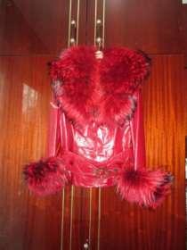 Кожаную куртку кожа подстежка+мех+пояс, в Хабаровске