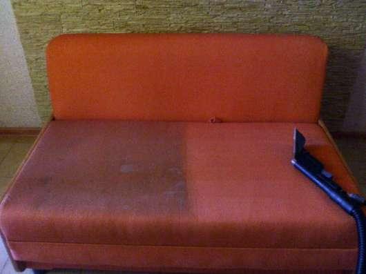 Химчистка тканевой обивки диванов