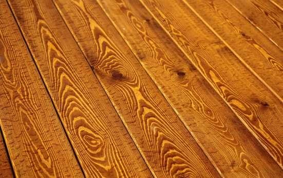 Покраска деревянных изделий немецкими маслами LAINOS