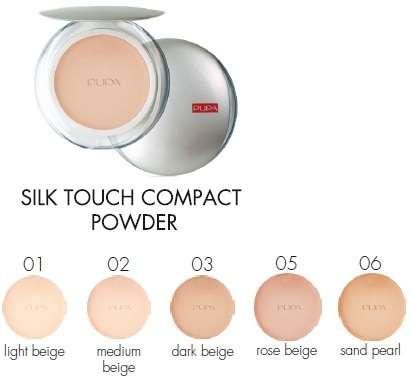 Пудра Pupa Silk Touch Compact Powder в Москве Фото 1