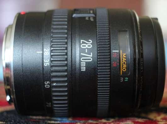 Сanon EF 28-70 mm f/ 3.5-4.5 II