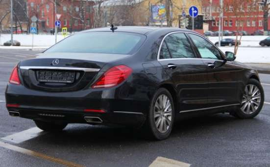 Прокат Mercedes-Benz W222 long