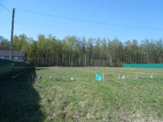 14 соток в д. Павлищево, Можайского р-на, 105 км от МКАД по Минскому шоссе.