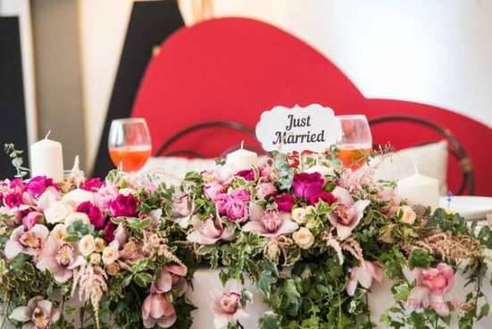 Оформление свадеб, мероприятий цветами, флористика в Москве Фото 5