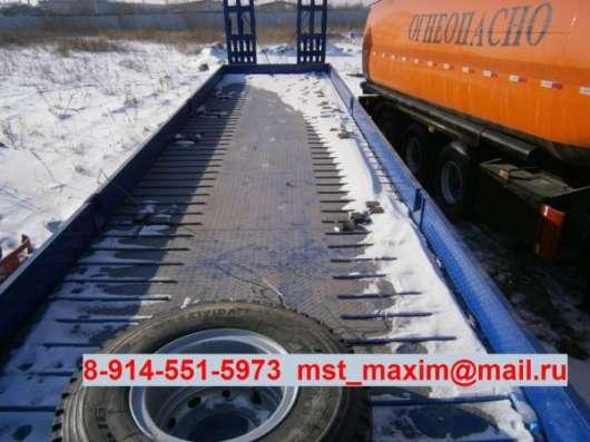 Полуприцеп трал CIMC г/п 60 тонн в Благовещенске Фото 3