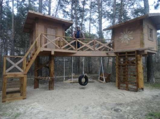 Бригада русских плотников