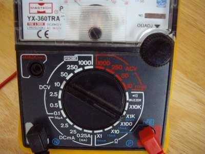 Мультиметр Mastech YX-360TRA Аналоговый в Челябинске Фото 2