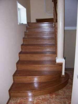 Лестницы деревянные для дома и дачи Новая Лестница