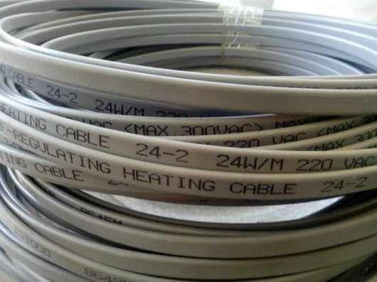 Саморегулирующийся кабель для обогрев труб, емкостей и т. п