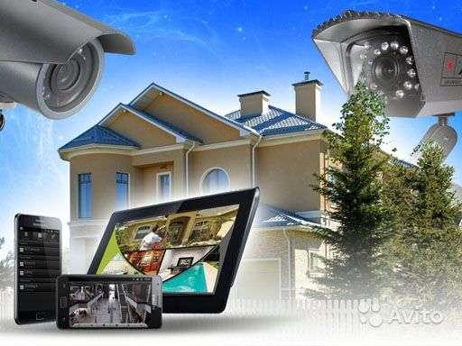 Видеонаблюдение, домофоны под ключ