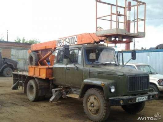 Услуги Аренда Заказ автокрана автовышки манипулятора в Подольске - Подольском районе Фото 3