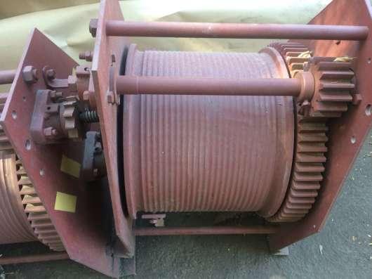 Лебедка тяговая ручная ТЛ-5А