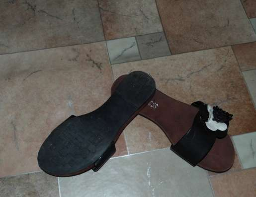 Шлёпки р.37 (23,5) на широкую ногу (одела один раз всё же мн в Москве Фото 2
