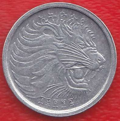 Эфиопия 1 цент 1969 / 1977 г. в Орле Фото 1